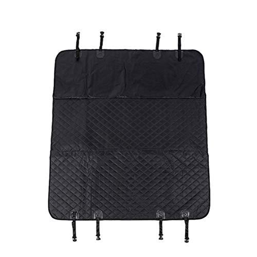 POPETPOP Protector de Asiento de Auto Resistente a los arañazos para Asiento de automóvil Resistente al Rayado para Autos SUV (Negro)