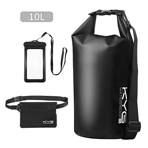 Premium bolsa estanca 10L impermeable seca PVC- Set de bolsa waterproof con...