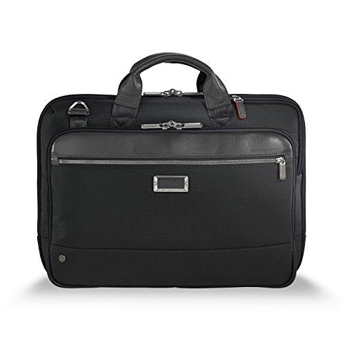 Briggs & Riley @ Work-Brief Briefcase, Black, Slim