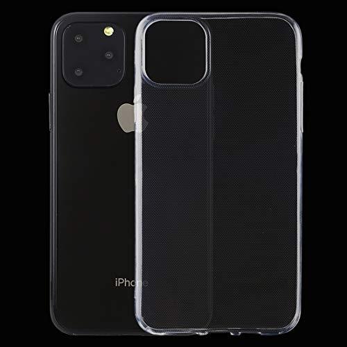 ANTONIDAS Cuero -0.5mm Funda Protectora TPU Transparente Ultra Delgada para iPhone 11 Pro Gel de sílice