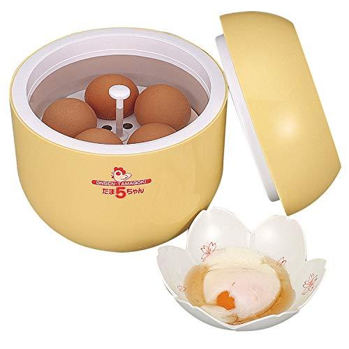 アーネスト 温泉卵メーカー 熱湯を注ぐだけ/保冷・保温機能 (たま5ちゃん) 大手飲食店愛用ブランド A-16021