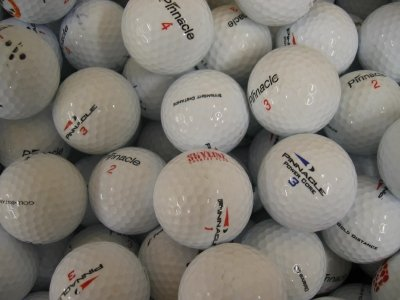 100 Assorted Pinnacle AAA Grade Golf Balls by Lakeballs