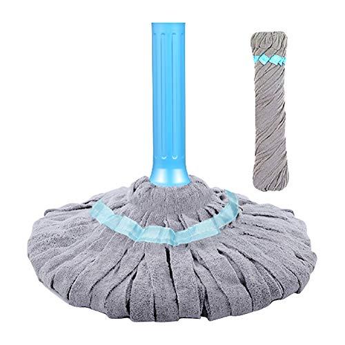 Giratoria De La Fregona El Piso Seco Y Una Toalla Húmeda For Proteger El Suelo Sin Doblar Los Productos De Limpieza De La Cintura (Color : Mop b)