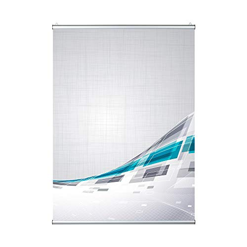 VKF Renzel GmbH Klemmleiste Set Poster Snap II, Aluminium, DIN A0 / DIN A1