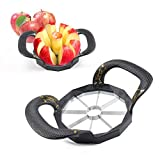 Apfelschneider Apfelteiler Edelstahl,Apple Cutter,Newness Apfelschneider,Apfelteiler Mit Schale,Edelstahl Apfelteiler,Apfelschneider Apfelentkerner