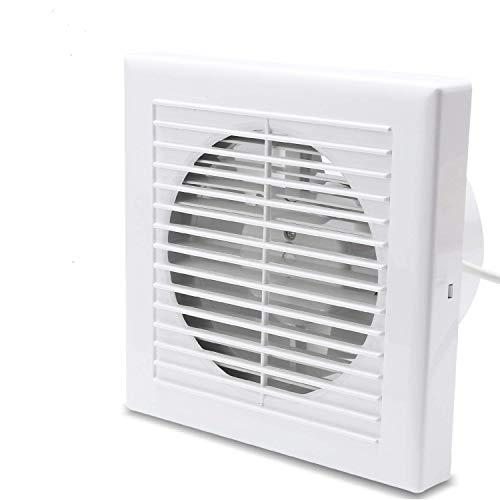 BMOT 150mm Ventilador extractor de Aire Silencioso de baño, oficina, cocina, bajo consumo
