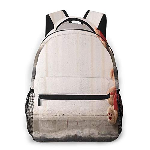 Rucksack Männer und Damen, Laptop Rucksäcke für 14 Zoll Notebook, Liebeskind einsam Kinderrucksack Schulrucksack Daypack für Herren Frauen