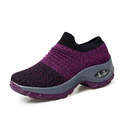 Leader Show Women's Slip-On Walking Shoes Comfortable...