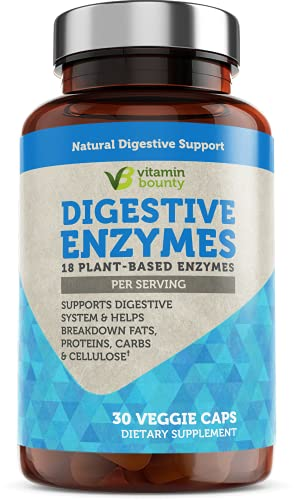 Digestive Enzymes, with 18 Ultra Plant Based Enzymes, Supplement...