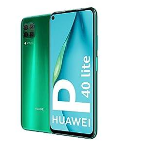 "HUAWEI P40 Lite - Smartphone 6.4"" (Kirin 810, 6GB RAM, 128GB ROM, Cuádruple cámara, Batería de 4200mAh) Verde + Band 4e Gris, Sin servicios de Google preinstalados [Versión ES/PT]"