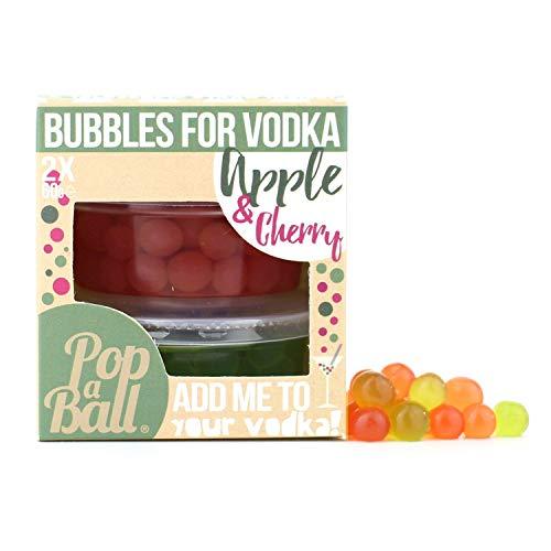 Popaball Apple & Cherry Bubbles for Vodka, 125 g