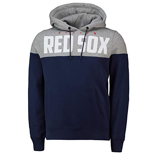 Fanatics MLB Boston Red Sox Cut Sew Hoody Hooded Sweater Kaputzenpullover (L)