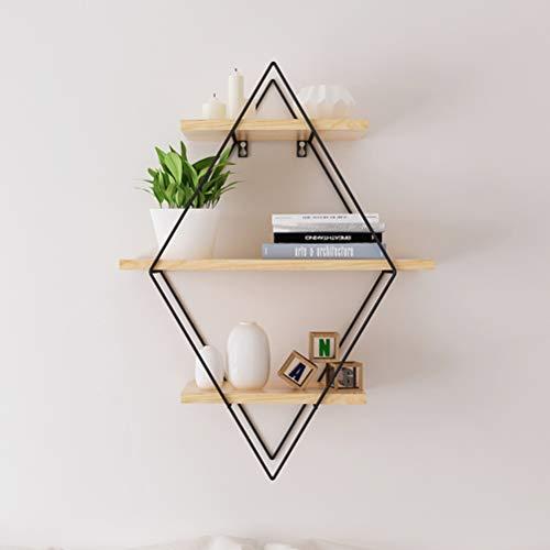 Kitchen furniture - Support de rangement de style nordique étagère murale en bois massif moderne moderne décoration de la maison WXP (taille : 60X22X80CM)