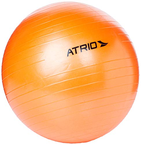 Bola De Ginástica 55Cm De Diâmetro Material Pvc Laranja Atrio - Es118 Multilaser