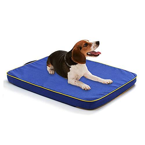 xihan123 Coperta per Cani Confortevole Cuscino per Gatti Cuscino Cane Impermeabile Durevole Materassino Cane per Coniglietto del Gattino del Cucciolo Dell'animale Domestico Blue,Small