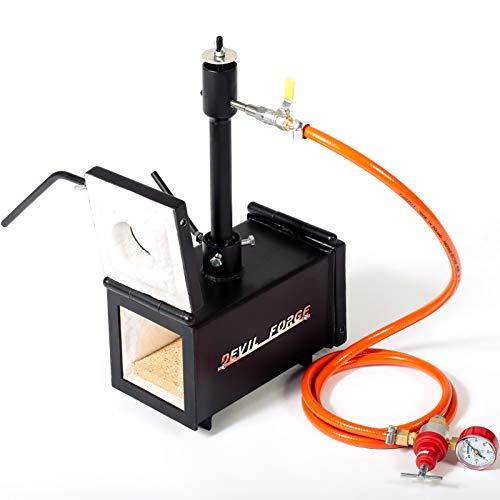 Forja de gas propano - DFPROF1+2D | con 1 quemador DFP (80,000...
