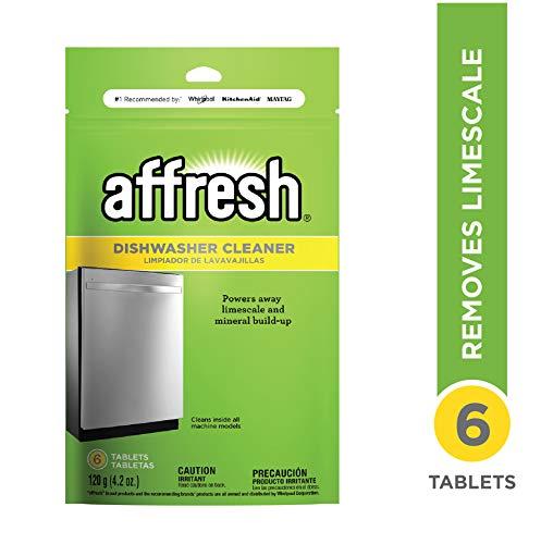 Affresh W10282479 Dishwasher Cleaner, 1 Pack, Yellow