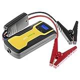 Green Cell® multifonction Voiture Jump Starter et chargeur de batterie externe portable avec adaptateurs, colliers de serrage, lampe de poche LED, 12V, sortie 11100mAh