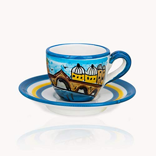 Best Price Venezia - Hand-painted Coffee Cup Memoritaly