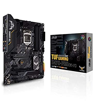ASUS TUF Gaming H470-PRO WiFi 6 LGA1200 (Intel 10th Gen) ATX Gaming Motherboard (WiFi 6, Intel 1Gb LAN, Front Panel TypeC Connector, Addressable Gen 2 RGB Header and Aura Sync)