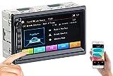 Creasono Doppel DIN Radio: 2-DIN-MP3-Autoradio mit Touchdisplay, Bluetooth, Freisprecher, 4X 45 W (Doppel DIN Autoradio)