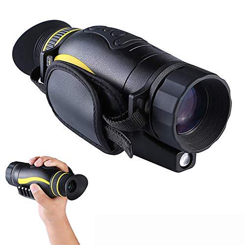 ZXDFG 4X35 Nachtsicht-Monokularteleskop, Digitale HD-Nachtsichtfernrohre, 1080P HD-Videoaufzeichnung und Fotos für die Jagd auf Sicherheitsbesichtigungen