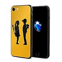 バンクシー Iphone SE ケース 第2世代 Iphone7ケース Iphone8 ケース TPU 背面強化ガラス 脱着簡単 軽量 全面保護 耐衝撃 すり傷防止 指紋防止 かわいい おしゃれ 傷防止 カメラ保護 4.7インチ