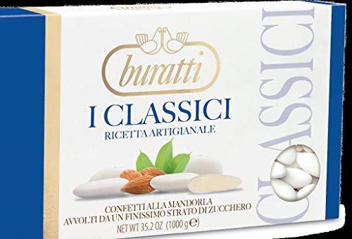 Buratti Confetti Capri Bianca - 1 kg
