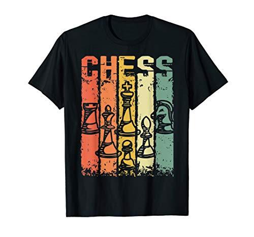 Retro Chess Game | Schachfiguren | Männer Frauen Kinder