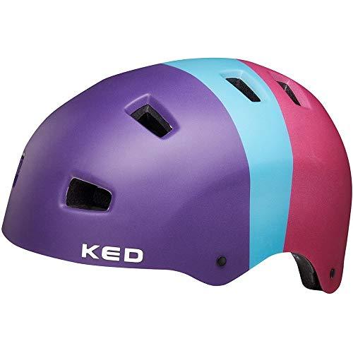 KED 5Forty Helm Kinder 3 Colors Retro Rave Kopfumfang L | 57-62cm 2021 Fahrradhelm