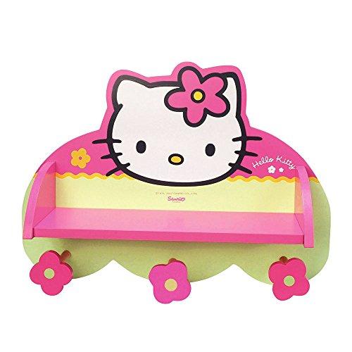 Hello Kitty - 711163 - Ameublement et Décoration - Etagère Portemanteau en Boîte - Quadricolore
