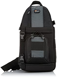 Lowepro Slingshot 302AW - Mochila para cámaras de Fotos DSLR y videocámaras, Negro y Gris (B0036AYTWG) | Amazon price tracker / tracking, Amazon price history charts, Amazon price watches, Amazon price drop alerts