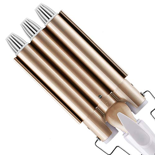 DazSpirit Lockenstab, 3 Fässer 22mm Lockenwickler Wellen Locken Welleneisen für Haare - 2020 Aktualisierte Version