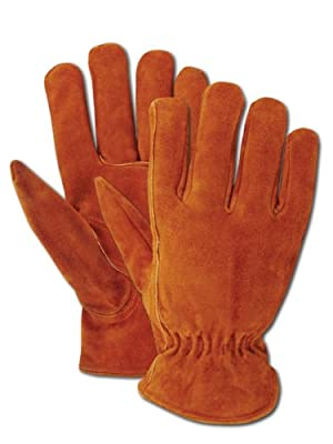 Magid Men's Pro Grade Collection Fleece-Lined Suede Gloves