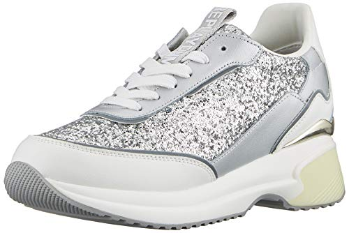 Replay Decade, Zapatillas Mujer, Plata 050 Silver, 38 EU