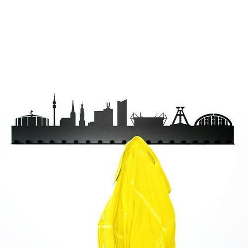 Radius Porte-Manteaux à Suspendre Motif Dortmund Noir