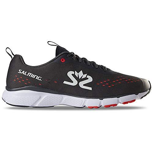 Salming enRoute 3 Schuhe Herren Forged Iron/White/New orange Schuhgröße US 11,5   EU 46 2020 Laufsport Schuhe