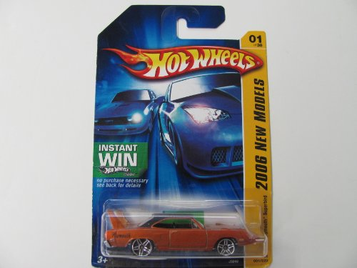 Hot Wheels Copper 70 1970 Plymouth Superbird 2006 New Models 1 of 38