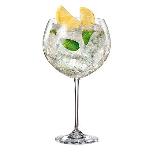 Enebro Gin vasos de cóctel de carpintero/850ml-caso de 6-gran globo de Gin gafas