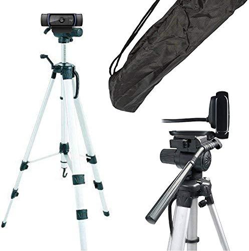 TronicXL Tripod XL - Trípode para cámara web compatible con Logitech C920 Brio 4K C925e C922x C922 C930e C930 C615 para Microsoft LifeCam Studio Spedal gran accesorio para oficina en casa