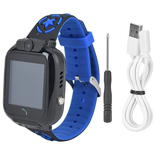 Pwshymi Touchscreen-Uhr Multifunktions-Kinder Telefonuhr für 3-12 Jahre alt für Kinder Kinderspielzeug Geschenk(Blue)
