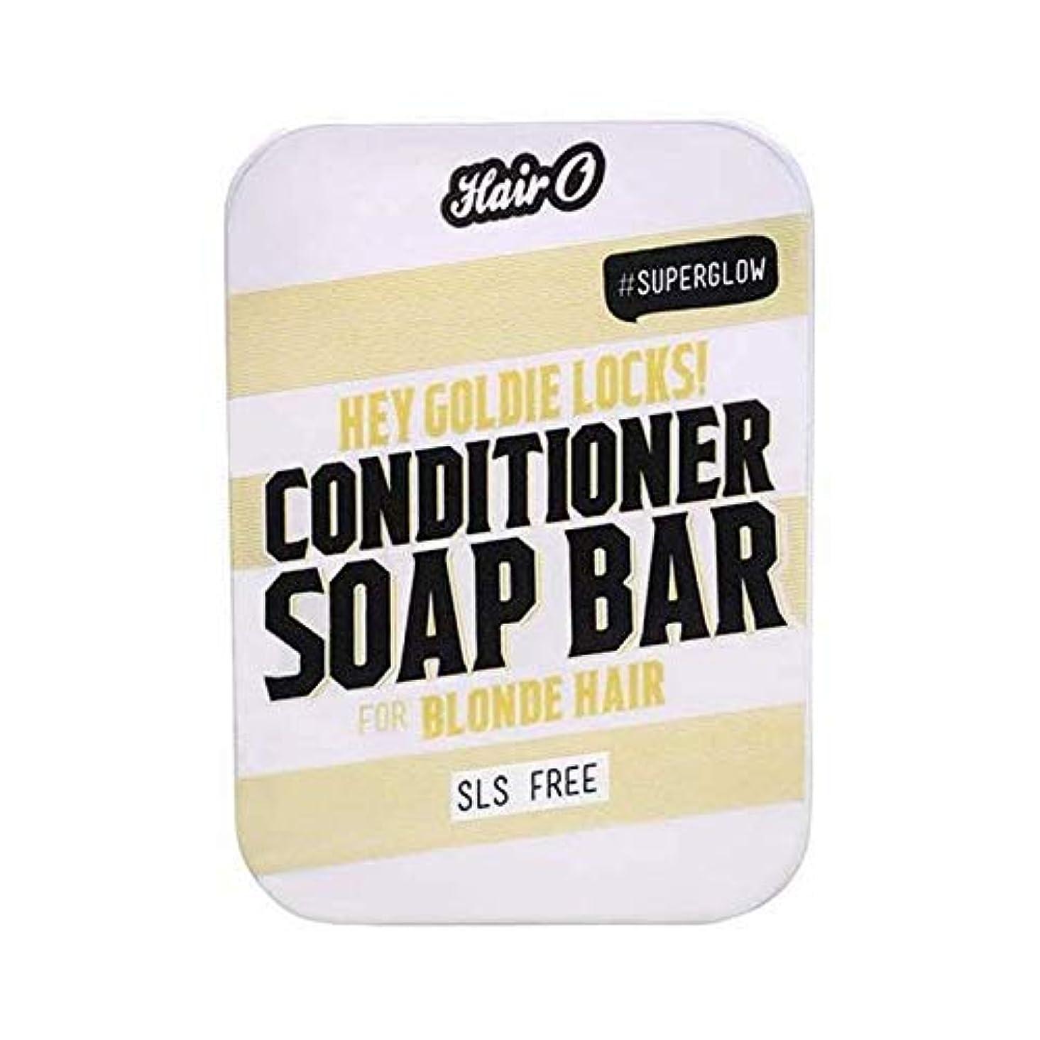 ペルセウスなめるレーダー[Hair O ] 髪ちょっとOゴールディロックCondtioner石鹸バー100グラム - Hair O Hey Goldie Locks Condtioner Soap Bar 100g [並行輸入品]