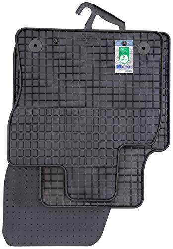 PETEX Gummimatten passend für Kodiaq ab 03/2017 Fußmatten schwarz 4-teilig