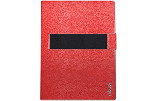 Hülle für Asus ZenPad 3S 10 Tasche Cover Hülle Bumper | in Rot Leder | Testsieger