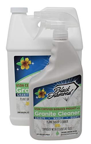 Black Diamond Stoneworks Granite Counter Cleaner: USDA Certified...