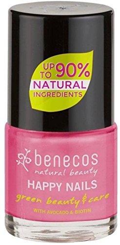 BENECOS – Nagellack Pink Bubble - Frei von Formaldehyd & Colophonium - Ohne Toluol, Phthalate & Campher - Große Farbvielfalt – Vegan – 9ml