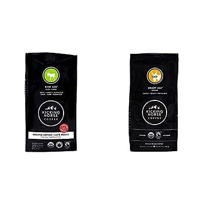 Kicking Horse Coffee, Ground, 10 oz - Certified Organic, Fairtrade, Kosher Coffee