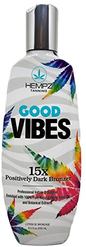 powerful Hempz Good Vibes Positive Dark Bronzer, 8.5 oz.