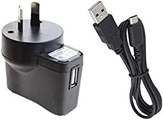 USB Power Supply AC Adapter Charger Compatible with Nintendo NDSL, NDS Lite, DS Lite, DSL, USG-001, USG-002