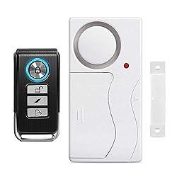 Wsdcam Door Alarm Wireless Anti-Theft Remote Control Door and...